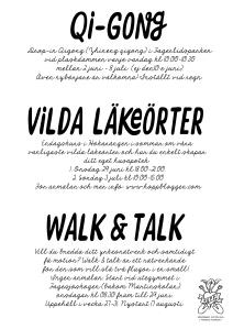 Affisch Maja Lindström sommarprogram Hökarängen