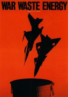 Japanese Poster War Waste Energy. Masuteru Aoba. 1981_500