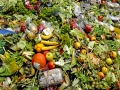 A photo taken on October 23, 2012 in Morsbach, western France, shows waste food products stocked at the Methavalor factory to produce methane before conversion into a biogas fuel for the GNVert company, a subsidiary of French energy GDF Suez group.   AFP PHOTO / JEAN-CHRISTOPHE VERHAEGEN        (Photo credit should read JEAN-CHRISTOPHE VERHAEGEN/AFP/Getty Images)