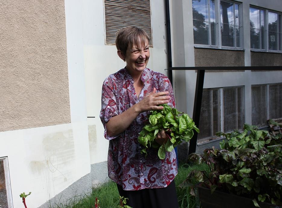Helena Fagerlidsparken Hökarängen foto Maja Lindström