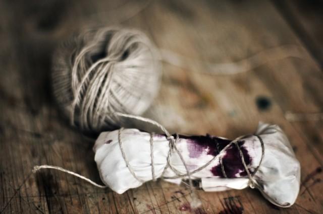 Dye it yourself Hornstull en tidigare kurs arrangerad tillsammans med Slow creations. Foto Stina Axelson