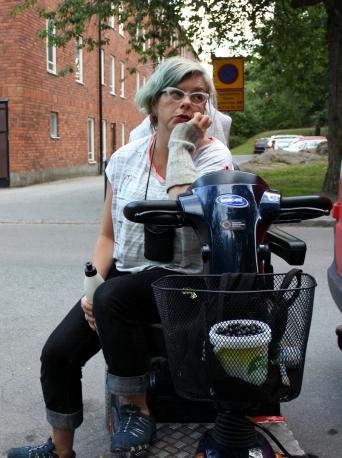 körsbärsplockare Tobaksvägen Hökarängen foto Maja Lindström
