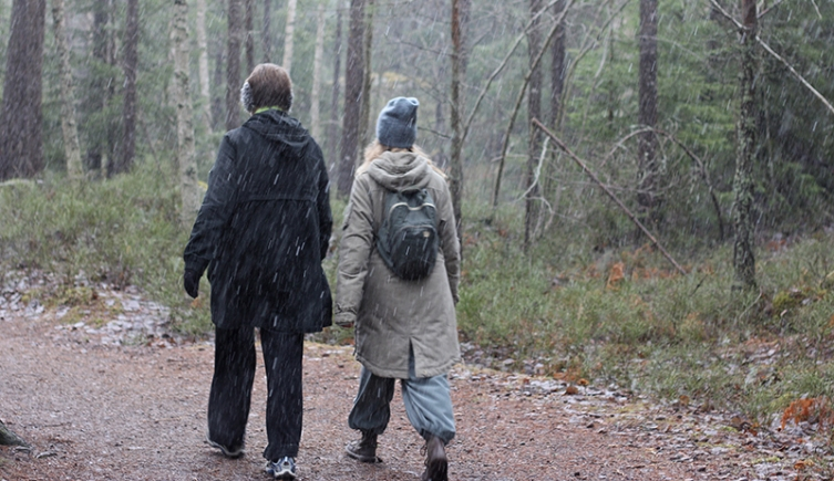 Slingan Fagersjöskogen foto Maja Lindström